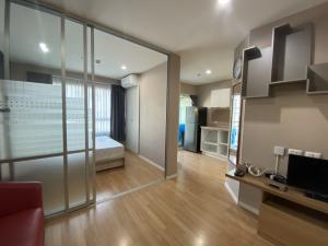 For RentCondoRamkhamhaeng Nida, Seri Thai : hire!!! Lumpini ville Ramkhamhaeng 60/2 room, 27 square meters, with a washing machine.