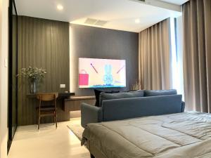 For RentCondoWitthayu,Ploenchit  ,Langsuan : [โพสต์เจ้าของห้อง] ให้เช่าคอนโดโนเบิล เพลินจิต 1 ห้องนอน แต่งครบ พร้อมอยู่