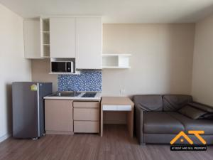 For RentCondoRatchathewi,Phayathai : For Rent/Sell The Capital Ratchaprarop - Vibha 1Bedroom 31 Sq. , Fully furnished