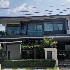 For SaleHouseRamkhamhaeng,Min Buri, Romklao : House for sale, setthasiri project Bangkok New Green Tad (Srinakarin Romklao) #Amaro 4 bedrooms, 4 bathrooms
