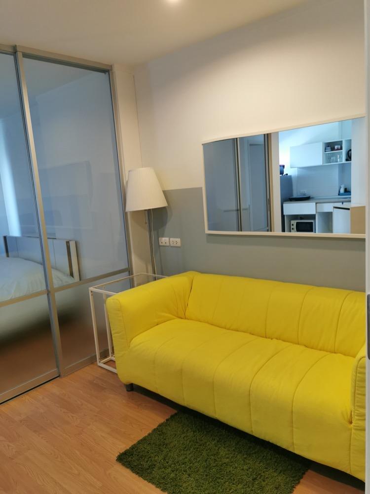 For RentCondoPattanakan, Srinakarin : Condo for rent, LPN Huamak station, unblock view, 11th floor, room size 26 sq m.Wifi internet free