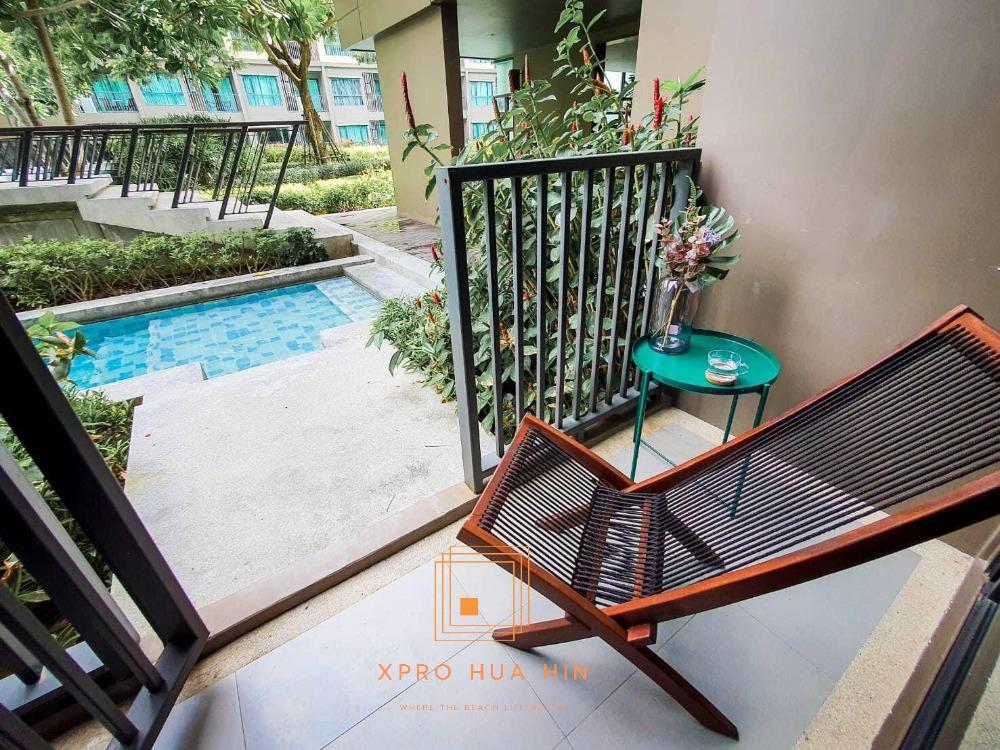 ขายคอนโดชะอำ เพชรบุรี : ห้อง Pool Access ราคาดี