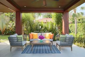 For SaleHouseHua Hin, Prachuap Khiri Khan, Pran Buri : House for sale with a fully furnished pool.