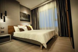 เช่าคอนโดท่าพระ ตลาดพลู : ให้เช่า แอสปาย สาทร-ท่าพระ (Aspire Sathorn-Thapra) - ห้องใหม่แต่สวยจัดเต็ม, 1 ห้องนอน, 26.5 ตรม.
