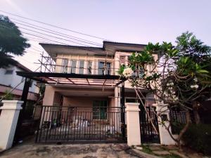 For SaleHouseRama5, Ratchapruek, Bangkruai : House for sale 63 sq.w., Bangkok Boulevard Village Near Fitness Thananon