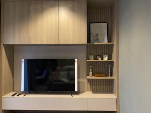 For RentCondoRama9, RCA, Petchaburi : New room 🔥 Life Asoke Rama9, 28 sqm., High floor, unblocked view Ready to move electrical appliances 095-249-7892