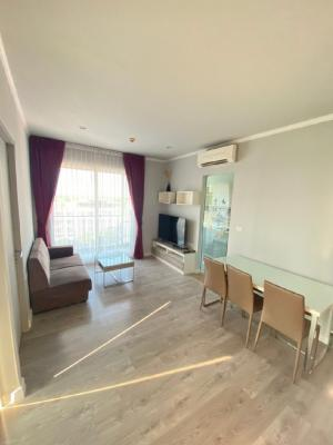 """For RentCondoNakhon Pathom, Phutthamonthon, Salaya : For rent, Zelle Salaya room, 2 bedrooms, """"can live 2-3 people"""", 7th floor, the largest room, 46 sqm."""