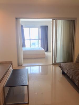 For RentCondoRama9, RCA, Petchaburi : Cozy, big room for rent or sale. Aspire Rama 9 size 40 sqm. 1 bedroom contact id or Tel 0859114585 near Central Rama 9. and Fortune Lotus Rama 9. Fully furnished ready to move in. 1 car parking, full fitness, swimming pool, contact 0859114585 or id line 0