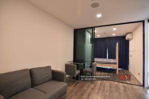 For SaleCondoRatchadapisek, Huaikwang, Suttisan : Modiz Ratchada 32 Condo for Sale: Modiz Ratchada 32, 4th floor, near MRT Lat Phrao, very good condition, rarely used by the owner. Ready to move in Cheapest in the project