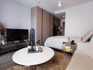 For RentCondoOnnut, Udomsuk : ✅ For rent, Ideo Sukhumvit 93, near BTS, size 28 sqm, complete with furniture and appliances ✅