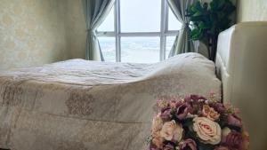 For SaleCondoRattanathibet, Sanambinna : Condo for sale, Manor Sanambinnam 1 bedroom with the most beautiful view.