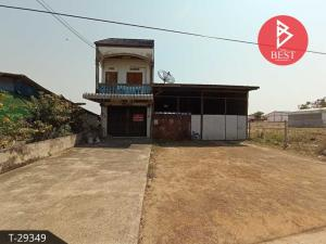 For SaleHousePattaya, Bangsaen, Chonburi : House for sale with land area of 80 square meters, Phanat Nikhom, Chonburi.