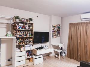 For SaleCondoOnnut, Udomsuk : Quick sale, great value !! The Escape Condominium 101/1 room size 31 sq m.