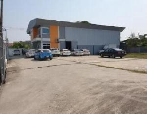 For RentWarehouseLadprao101, The Mall Bang Kapi : Warehouse for rent with office, Soi Ladprao 101, land area 400 square meters, large car in and out easily