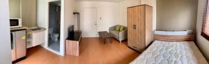 For RentCondoRangsit, Patumtani : Rent a beautiful room near the fitness center, low price