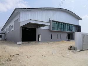 ขายโรงงานสำโรง สมุทรปราการ : ขาย-เช่า โรงงาน สร้างใหม่ เนื้อที่ 1-3-60 ไร่ พื้นที่ใช้สอย 1950 ตรม. 30 x 61 ม.