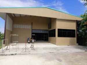 เช่าโรงงานรังสิต ธรรมศาสตร์ ปทุม : ให้เช่าโกดังสร้างใหม่ พื้นที่ใช้สอย 400 ตรม. พร้อมสำนักงาน ตั้งอยู่ในพื้นที่ ลำลูกกาคลอง6 มีใบอนุญาต รง.4