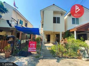 For SaleTownhouseSamut Songkhram : Townhouse for sale Eua Arthorn Soi 5, Lat Yai, Samut Songkhram.