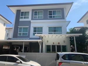 For SaleHouseRama5, Ratchapruek, Bangkruai : 3-storey house for sale Casa Premium Ratchapruek Rama 5 Bang Kruai Sai Noi Ratchapruek Rattanathibet