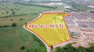 For SaleLandPattaya, Bangsaen, Chonburi : Land filled 56-1-99.9 rai on the road Soi Wat Bo Win - Yang En Bowin, Si Racha, Chonburi