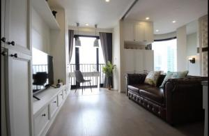 For RentCondoSukhumvit, Asoke, Thonglor : For Rent Ashton Asoke, large room, high floor, beautiful view, fully furnished @JST Property.