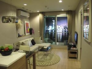 เช่าคอนโดรัชดา ห้วยขวาง : Furnished Room for Rent / Sell @ Condo Rhythm Ratchada - Huai Khwang