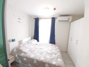 For RentCondoRamkhamhaeng, Hua Mak : For rent, Plum Condo Ramkhamhaeng 60, near The Mall Bangkapi, beautiful room, white tone