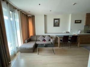 For RentCondoRatchadapisek, Huaikwang, Suttisan : Rhythm Huay Kwang for rent 1 bedroom, 1 bathroom, size 52 square meters, 11th floor, city view, corner room.