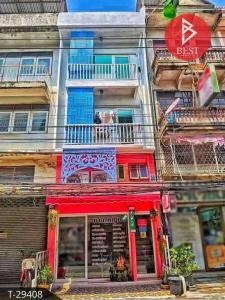 For SaleShophouseRathburana, Suksawat : ขายอาคารพาณิชย์พร้อมห้องเช่า ประชาอุทิศ 54 เขตทุ่งครุ กรุงเทพมหานคร