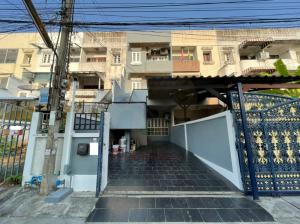 For RentTownhouseRatchadapisek, Huaikwang, Suttisan : A.N - Townhome for rent, Ratchada-Suthisan, area 170 sq m, 5 bedrooms, 4 bathrooms, near MRT Sittisarn