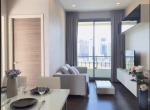 For RentCondoRama9, RCA, Petchaburi : 2 bedrooms, 1 bathroom, 45 sqm. 🔥 Q Asoke, high floor, beautiful decoration, complete electrical appliances, ready to move in 095-249-7892