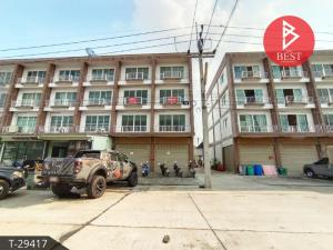 For SaleShophouseRangsit, Patumtani : 4-storey commercial building for sale, Mangmee Nakhon Rangsit, Khlong 1, Pathum Thani.