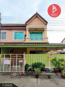 For SaleTownhouseRathburana, Suksawat : Townhouse for sale behind the corner of Wiset Suk Nakorn 16 Pracha Uthit 90 Phra Samut Chedi, Samut Prakan.