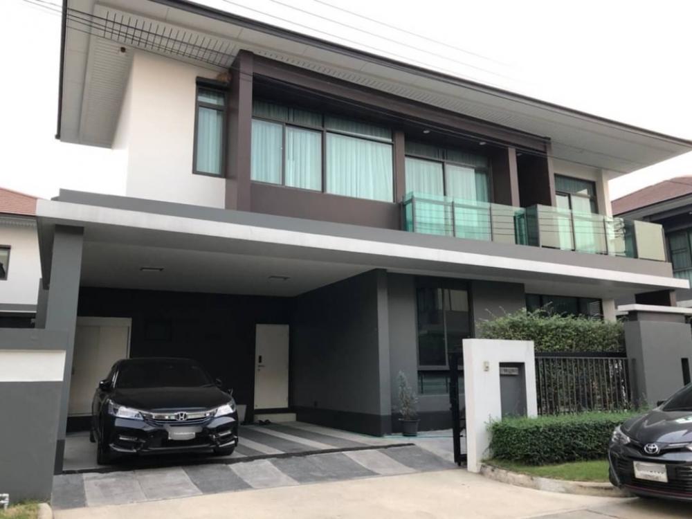 For RentHousePattanakan, Srinakarin : House for rent, Setthasiri Krungthep Kreetha 2 project, near Brighton College Bangkok.