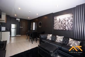 For RentCondoSathorn, Narathiwat : Luxury Room For Rent Rhythm Sathorn Narathiwas - 2Beds Fully furnished , High Floor