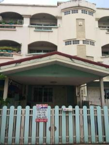 For SaleTownhouseLadprao101, The Mall Bang Kapi : 3.5 storey townhome for sale, Ladprao 101 m, Happyland Gran Ville (with deck)