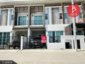 For SaleTownhouseSamrong, Samut Prakan : 2 storey townhome for sale, Nakhon Thong Living Village 2 Sukhumvit-Bangpoo, Samut Prakan