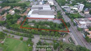 For SaleLandRattanathibet, Sanambinna : Land for sale, size 3 rai, 3 ngan, 44 square meters, at Sanambinnam, Muang District, Nonthaburi, near the lottery division.
