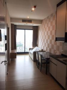 For RentCondoRama9, RCA, Petchaburi : Condo for rent, ready to move in, The Capital Ekkamai-Thonglor, 35 sqm., Ready to visit