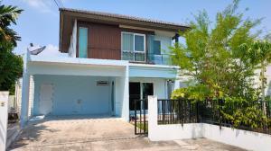 For RentHouseNakhon Pathom, Phutthamonthon, Salaya : Rent 18,000 baht / or sell a single house, Chaiyapruek Pinklao Village, Phutthamonthon Sai 5