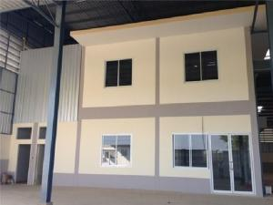 For RentWarehouseNakhon Pathom, Phutthamonthon, Salaya : For Rent, warehouse, factory, new building, new condition, area 1160 square meters, Thep Nimit Road - Salaya Lantana, good location, very good location along the road.