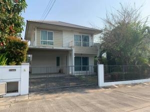 For SaleHouseRama5, Ratchapruek, Bangkruai : 2 storey detached house for sale, area 56.5 sq m., Living space, 135 sq m, No. 99/158, Soi 7, Chaiyapruek Village Project Rattanathibet-Wongwaen (Like a new home, never had a resident since buying it)