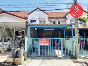 For SaleTownhouseSamrong, Samut Prakan : 2-storey townhouse for sale, Phanason Village, Villa 12, Bang Pu Municipality 70 (Bang Saen 2), Samut Prakan
