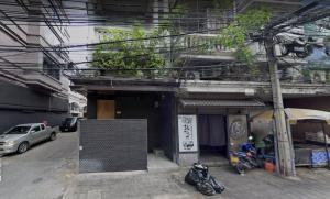 For SaleShophouseSukhumvit, Asoke, Thonglor : Urgent sale commercial building / Townhouse Sukhumvit 39 with tenants.