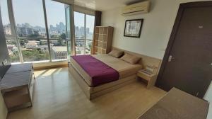 เช่าคอนโดรัชดา ห้วยขวาง : ปรับราคาลดลง!! Rhythm รัชดา ติด MRT รัชดา 2 ห้องนอน ชั้นสูง ห้องมุม วิวสระน้ำและสวน