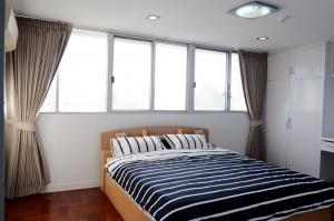 For RentCondoSukhumvit, Asoke, Thonglor : Tai Ping Tower Condominium Sukhumvit 63 (Ekamai) 2 bedrooms, 6th floor, fully furnished.