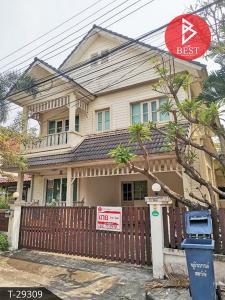 For SaleHouseSamrong, Samut Prakan : House for sale Wararom Village, Lake Ville, Thepharak, Samut Prakan