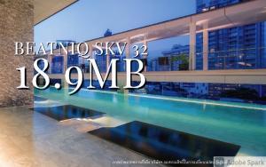 For SaleCondoSukhumvit, Asoke, Thonglor : 🔥ปรับราคาลง สู้Covid🔥 Beatniq 2BED 83sqm SPECIAL 18.5MB💥💥 📲Tel/Line: K.Bo 094-1624424