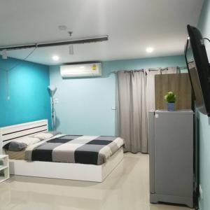For SaleCondoBangna, Lasalle, Bearing : Selling below the market price of the condo Regent Home 7 Sapphawut Bangna near Bts Bangna