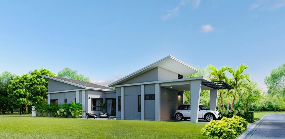 For SaleHousePhuket, Patong : NAI HOME single-family house (new house) Prusamphan, Thalang, close to Phuket International Airport.